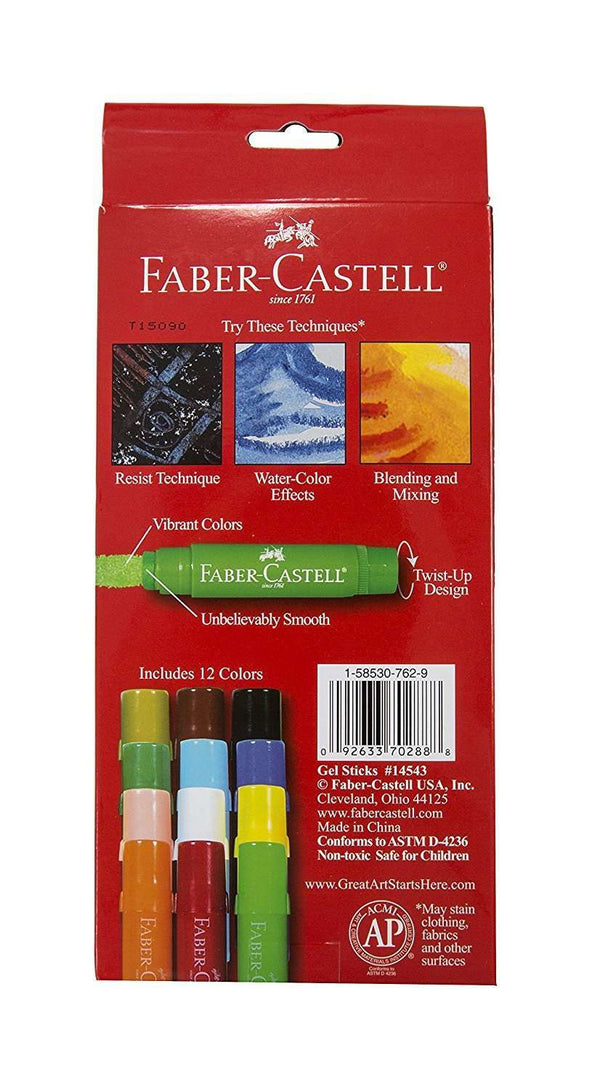 Faber - Castell | Gel Sticks - 12 ct