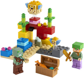 LEGO Minecraft | The Coral Reef