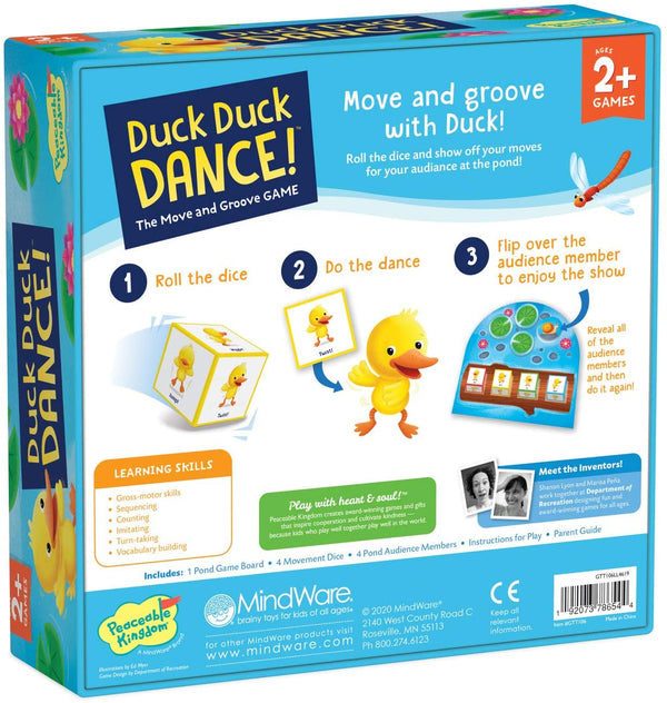 Peaceable Kingdom | Board Games ~ Duck Duck Dance