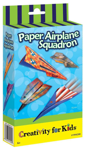 Creativity For Kids | Paper Airplane Squadron