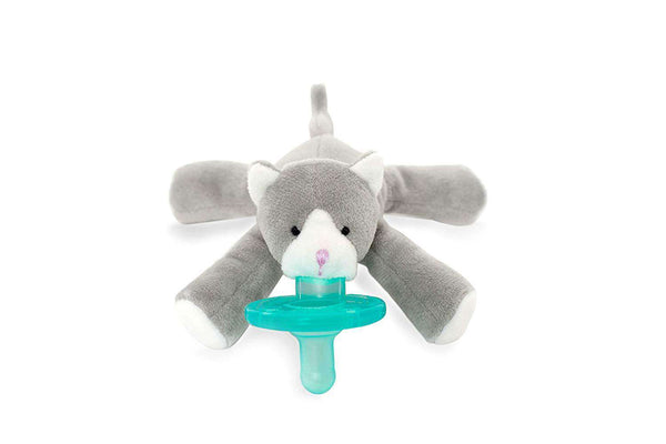 WubbaNub Pacifier | Grey Kitten