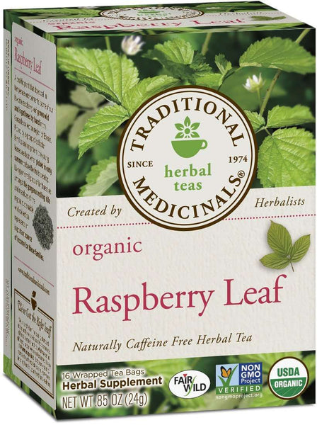 Organic Raspberry Leaf Tea by Traditional Medicinals