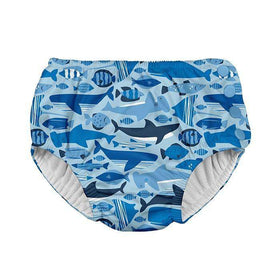 I Play | Snap Reusable Swim Diaper ~ Blue Whale League