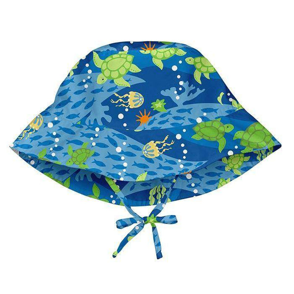 I Play | Bucket Sun Protection ~ Blue Turtle Journey