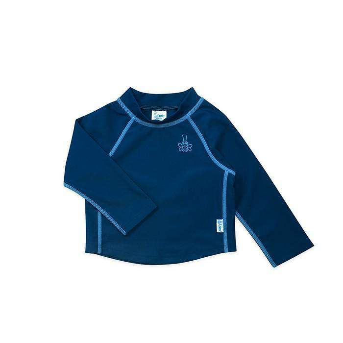 I Play | Long Sleeve Rashguard Shirt ~ Navy Blue