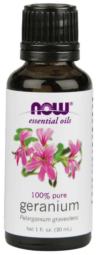 NOW Solutions | Geranium Oil 1oz