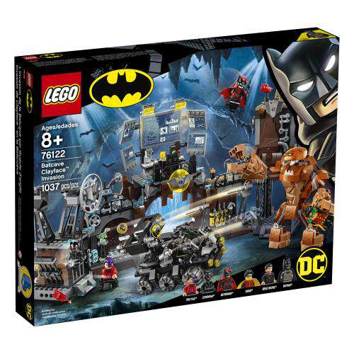 Lego | DC Super Heros ~ Batcave Clayface™ Invasion