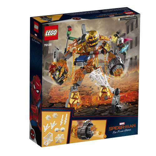 Lego | Marvel Spiderman ~ Molten Man Battle