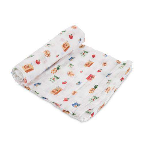 Little Unicorn + The Boss Baby | Cotton Muslin Swaddle Single - Juice Box