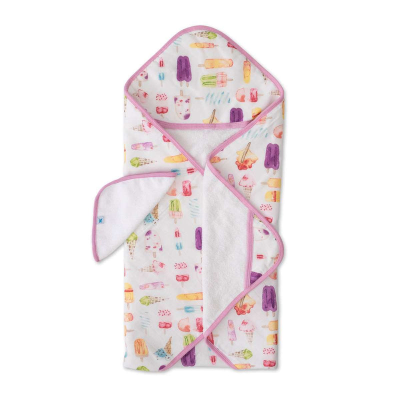 Little Unicorn | Hooded Towel & Washcloth ~ Brain Freeze