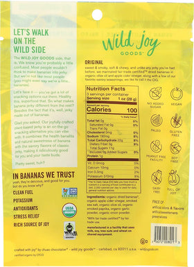 Wild Joy Goods ~ Banana Jerky Original