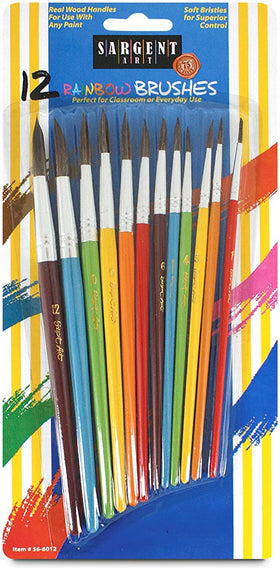 Sargent Art | Assorted Brushes 12 Pack