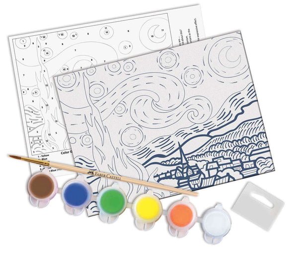 Faber - Castell | Paint by Number Museum Series - The Starry Night