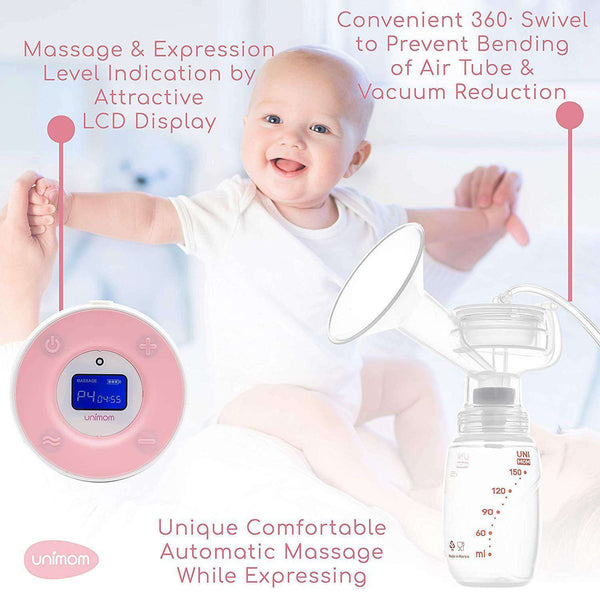 Unimom | Minuet LCD Double Electric Breast Pump