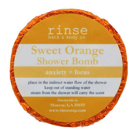 Rinse Bath Body Inc - Shower Bomb - Sweet Orange