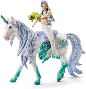 Schleich | Bayala ~ Mermaid Riding On Sea Unicorn