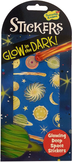 Peaceable Kingdom | Glow In The Dark Stickers ~ Deep Space