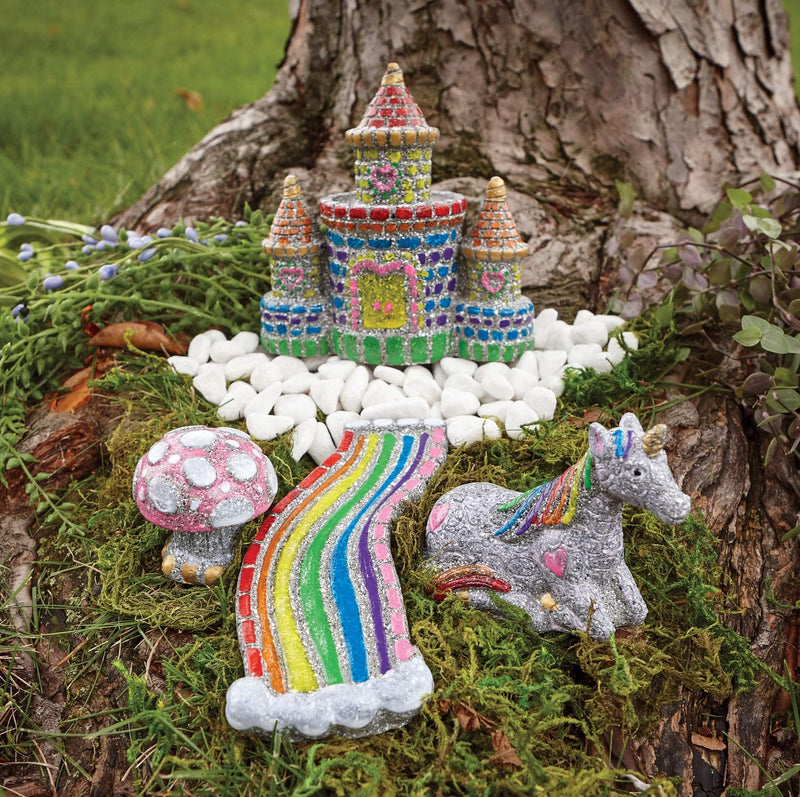 Paint Your Own Stone Unicorn Garden