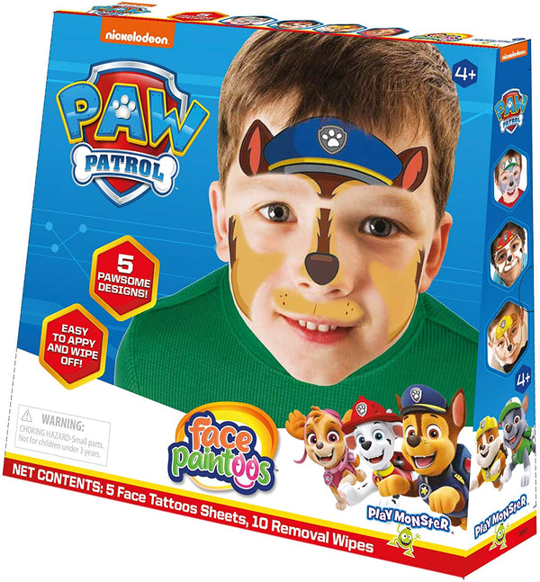 Play Monster | Face Paintoos ~ Paw Patrol