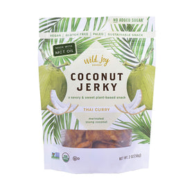 Wild Joy Goods ~ Coconut Jerky Thai Curry