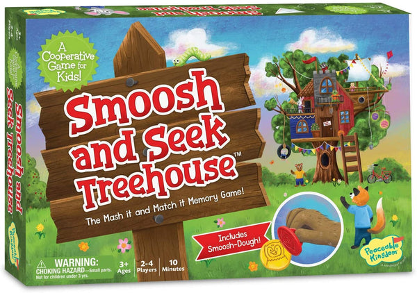 Peaceable Kingdom | Board Games ~ Smoosh & Seek Treehouse
