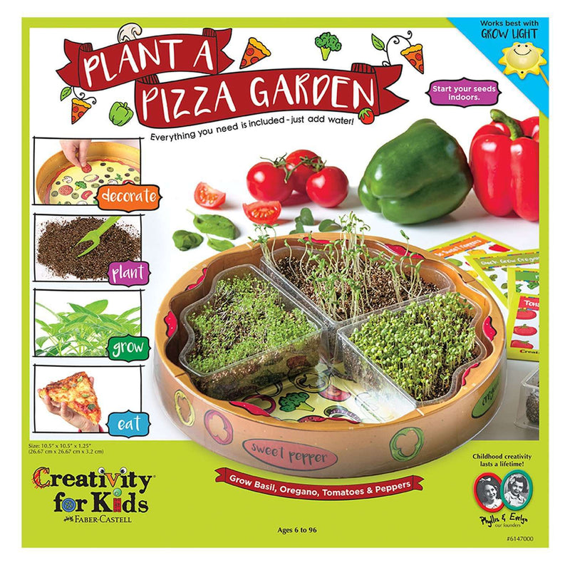Creativity For Kids | Plant A Pizza Garden