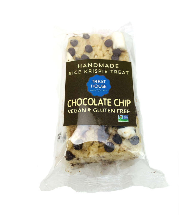 Treat House - Chocolate Chip Vegan, Gluten Free, Dairy Free, and Non-GMO