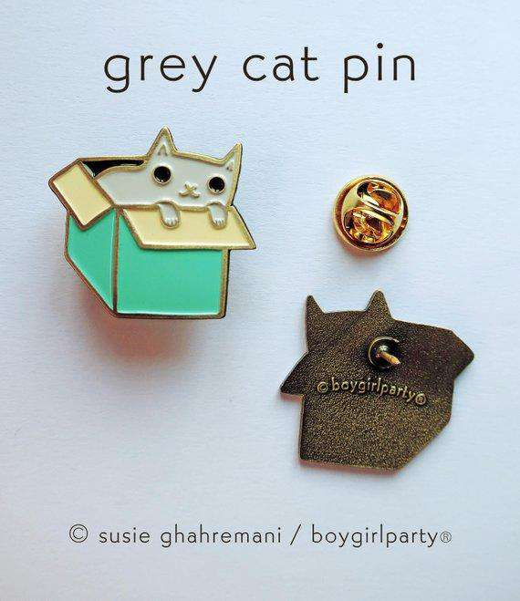 Boygirlparty - Cat Lover Enamel Pin