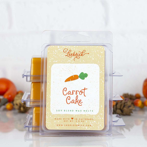Leebrick - Carrot Cake Wax Melts