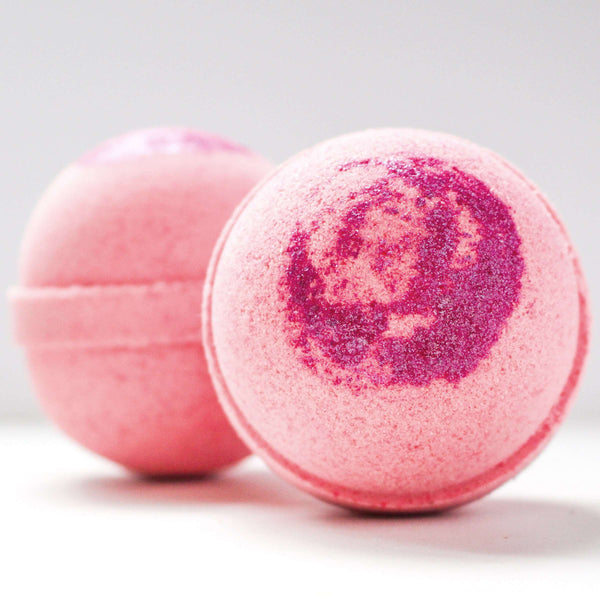 Nestingzone Apothecary  - Grapefruit + Champagne (Pink Cosmos Bath Bomb)