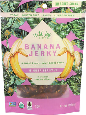 Wild Joy Goods ~ Banana Jerky Ginger Teriyaki