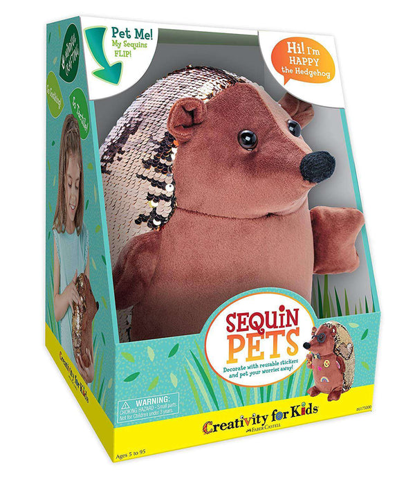 Creativity For Kids | Sequin Pets ~ Happy The Hedgehog