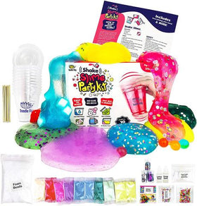 Doodle Hog - Shake Slime Party Kit for 10 Girls and Boys