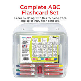 Faber - Castell | Color & Learn Alphabet Flash Cards