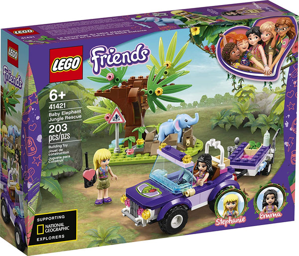 Lego | Friends - Baby Elephant Jungle Rescue