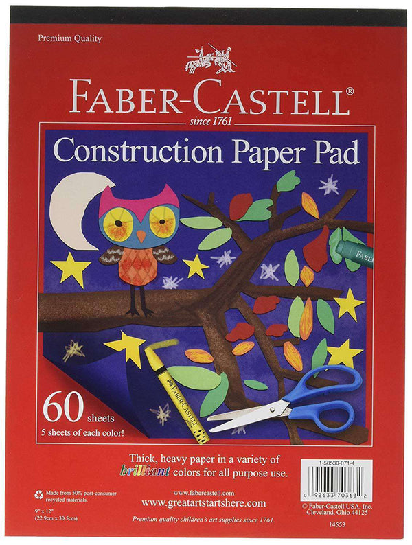 Faber - Castell | Construction Paper Pad