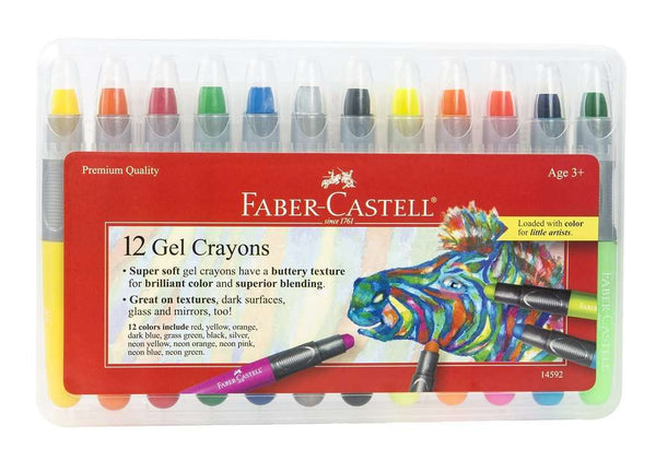 Faber - Castell | 12ct Gel Crayons