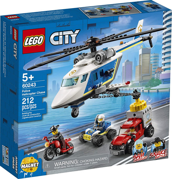Lego City ~ Police Helicopter Chase