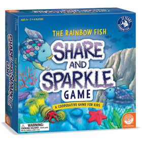 Mindware | Rainbow Fish Share & Sparkle Game