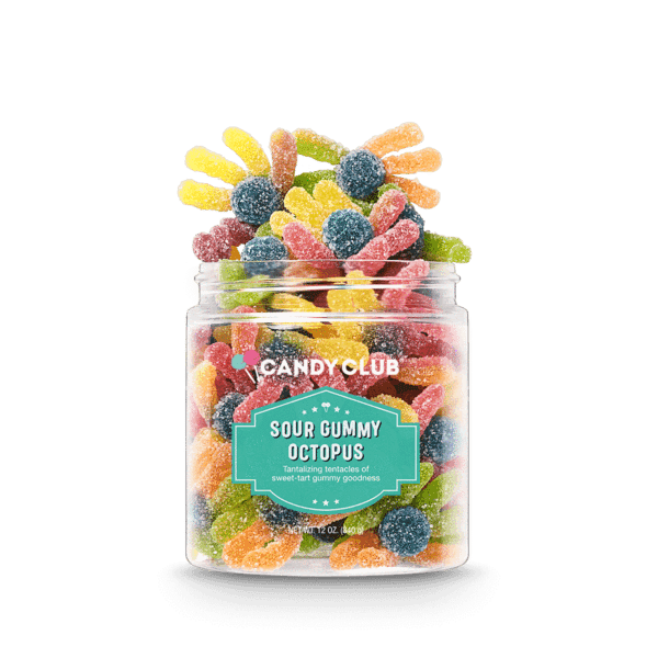 Candy Club ~ Sour Gummy Octopus