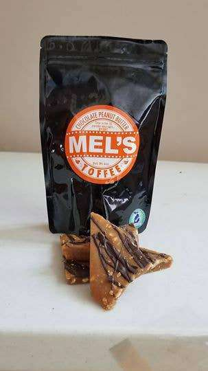 Mel's Toffee - Chocolate Peanut Butter Toffee