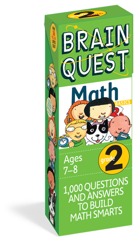 Brain Quest | Grade 2 Math Q&A Cards