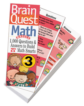 Brain Quest | Grade 3 Math Q&A Cards