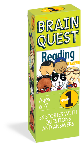Brain Quest | 1st Grade Reading Q&A Cards