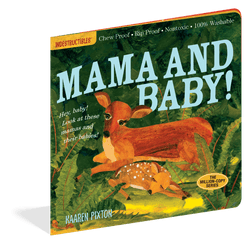 Indestructibles Books | Mama and baby