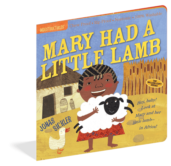 Indestructibles Books | Mary Had a Little Lamb