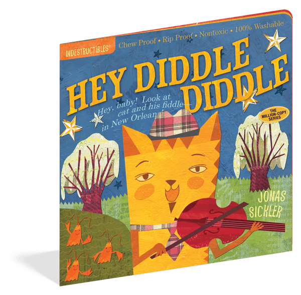 Indestructibles Books | Hey Diddle Diddle