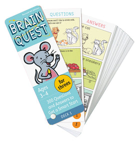 Brain Quest | Threes Q&A Cards