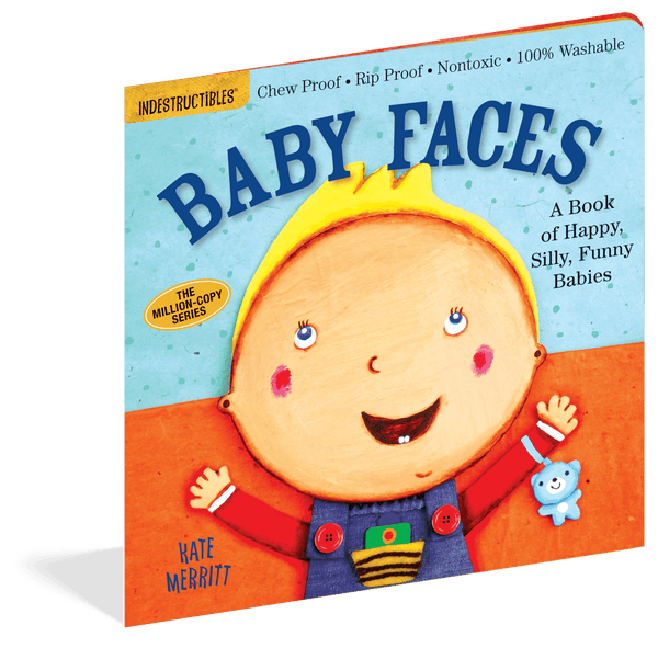 Indestructibles Books | Baby Faces