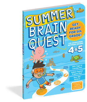 Brain Quest | Workbook ~ Summer: Between Grades 4 & 5